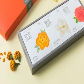할매화첩 꽃차3종
